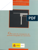 Concepcion de Puentes Integrales