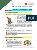 LEGO Education Elementos Para Trabajar Preescolar, Primaria y Secundaria