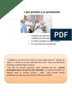 Prevención de LPP Lesiones Por Presion