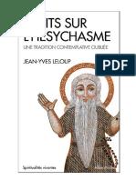 Philocalie et Hesychasme