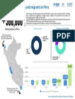 Uno de cada cinco venezolanos que han abandonado su país viven en Perú (+Datos)