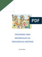 Programa Para Desarrollar Inteligencias Multiples