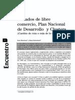 Tratados de libre comercio, Plan Nacional de Desarrollo y Clusters Cambio de ruta o más de lo mismo.pdf
