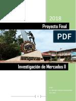 Final de Investigación de Mercados II - TERMINADO