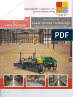 Laser Screed Catlogue