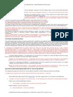BEECH 35 36 58 PROCEDIMENTOS DE BALANCEAMENTO