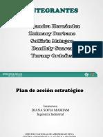 plan de acción estratégico
