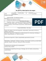 Formato perfil y descripción de cargos_Admon_Talentohmano