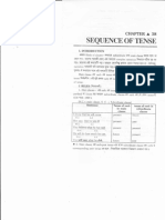 Chapter 38-Sequence of Tenses.