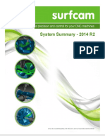 SURFCAM 2014 R2 System Summary