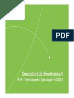 Conceptos Electronica II