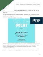 """""""DOCAT"""", la nueva guía joven de doctrina Social de la Iglesia.pdf"""