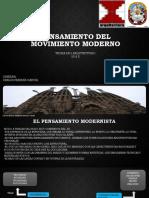 Pensamiento en El Modernismo Alci Acosta Velasquez