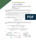 Optica Geometrica. Soluciones 0