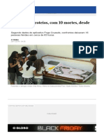 Rio Tem 60 Tiroteios Com 10 Mortes Desde Sexta 23259709