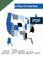 Marijuana Policy Map June 2019
