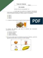 Evaluacion C. Naturales Vida Saludable