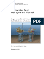 Sand management