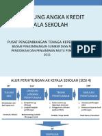 Menghitung Angka Kredit Kepala Sekolah