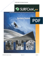 SURFCAM V5.2 System Summary