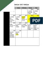 unit 5 calendar - fall semester