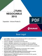 factura negociable