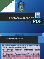 La Metacomunicación Examen (Elita)