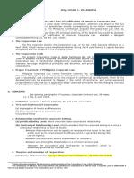 Docuri.com Corp Law Outline