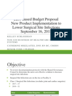 zero based budget proposal - new product implementation  power point 09