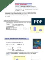 Dist. Bernoulli-binomial y Normal (Unfv ) 2018 - 2