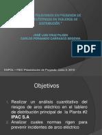 Peligro Arco Electrico