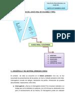Diferencias Del Juicio Oral de Colombia y Peru