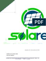 Carta Presentación Solared