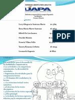 Exposicion de Didactica Especial de La Lengua Española