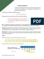 Método de Fibonacci y Dorada