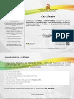 Certificado Abeline