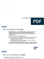 Funcionalidades Sap Solution Manager