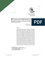 Importancia de los programas virtuales en la educación superior peruana