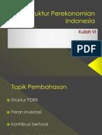 Struktur Perekonomian Indonesia