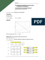 Ejercicios Gauss en Exel