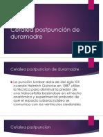 Cefalea Postpunción de Duramadre Exponer