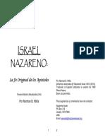 Nazarene Israel v3.1 Spanish Home Printable