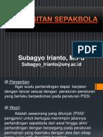 perwasitan-sepakbola.pptx