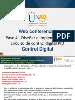 Web Conferencia 4 Control Digital Paso 3 Fecha 23-11-2018