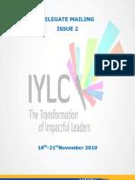 Delegate Mailing IYLC