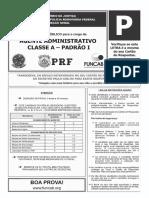 Funcab 2014 Prf Agente Administrativo 02 Prova