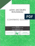 Rousseau, J. J. .- El contrato social.pdf