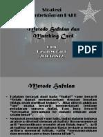 Metode Hafalan Dan Matching Card