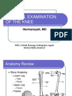 7788321 Knee Examination Hermansyah MD