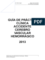 Gpcl-Accidente Cerebro Vascular Hermorragico
